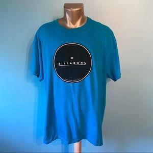 🛍3/$25 Men's Billabong blue t-shirt
